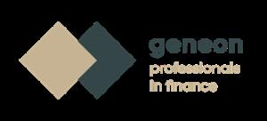 Logo met professionals in finance